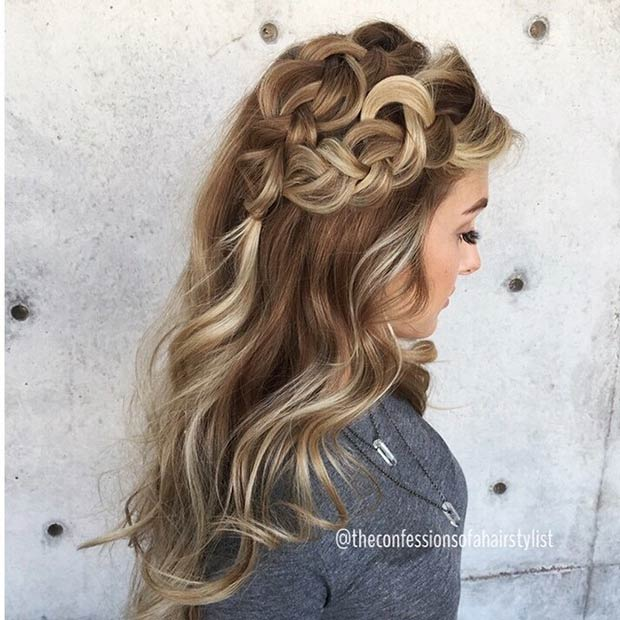 Double Side Dutch Braid