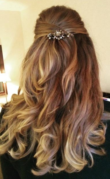 26 Stunning Half Up Half Down Hairstyles Page 3 Of 3 Stayglam