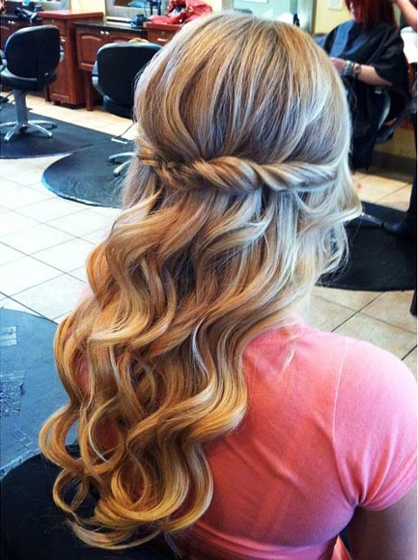 Curls & Twist Hairstyle