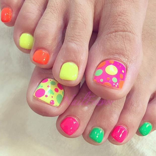 51 Adorable Toe Nail Designs For This Summer