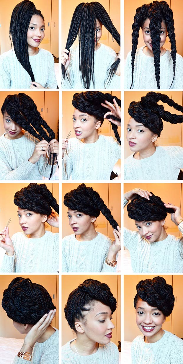 50 Box Braids Hairstyles That Turn Heads Stayglam Page 5