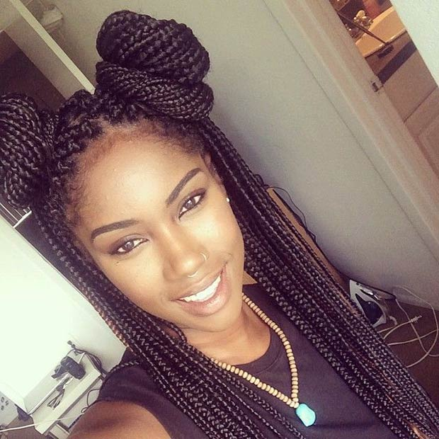 70 Box Braids Hairstyles That Turn Heads Page 4 Of 7