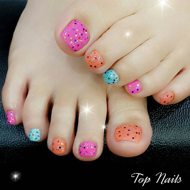 31 adorable toe nail designs for this summer stayglam instagram pumpuitopnails99 prinsesfo Gallery