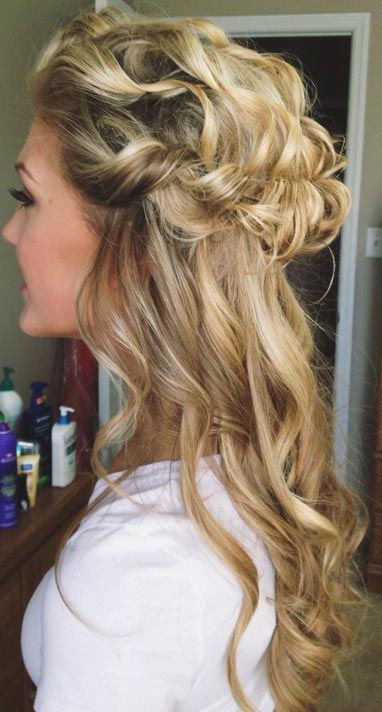Awesome 26 Stunning Half Up Half Down Hairstyles Stayglam Hairstyle Inspiration Daily Dogsangcom