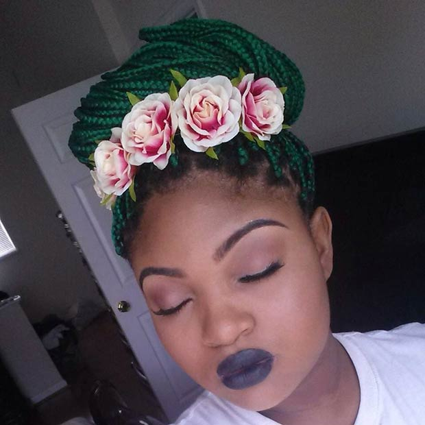 70 Box Braids Hairstyles That Turn Heads Page 2 Of 7