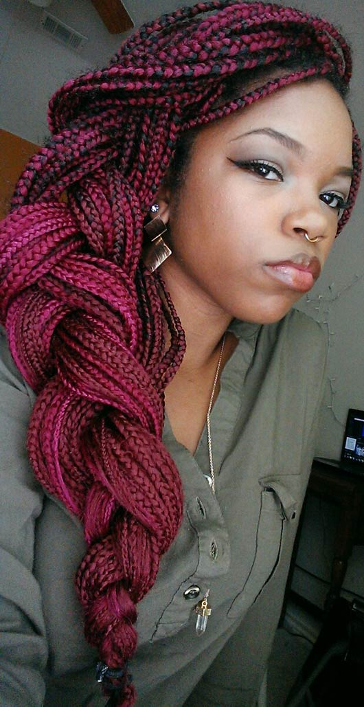 70 Box Braids Hairstyles That Turn Heads Page 3 Of 7