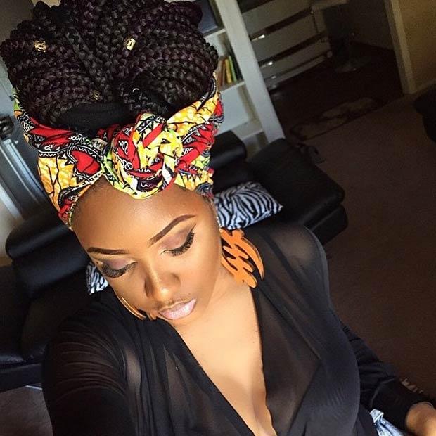 70 Box Braids Hairstyles That Turn Heads