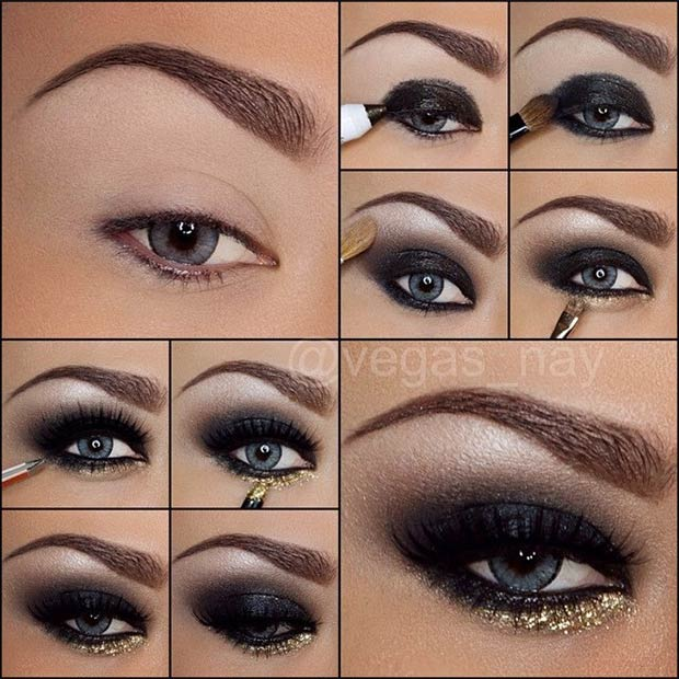 Glamorous Smokey Eye Tutorials Stayglam