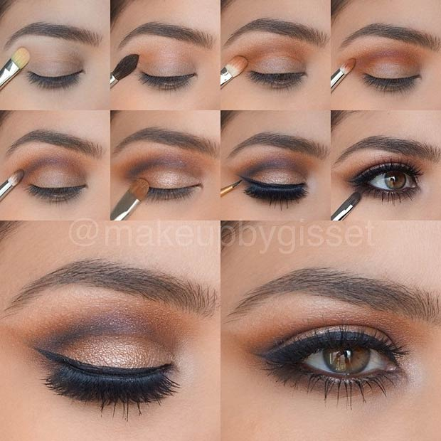 21 Glamorous Smokey Eye Tutorials