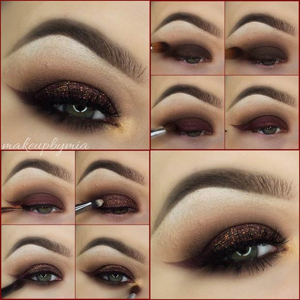 Dark Brown Smokey Eye Tutorial