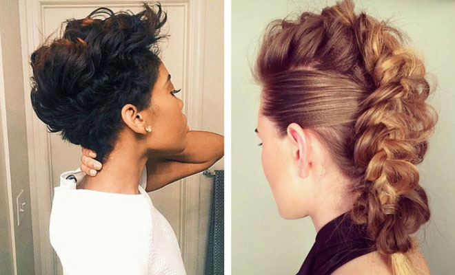 Faux Hawk Hairstyles To Be The Center Of Attention