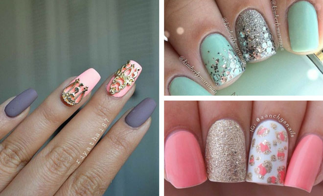 50 best nail art designs from instagram stayglam prinsesfo Gallery