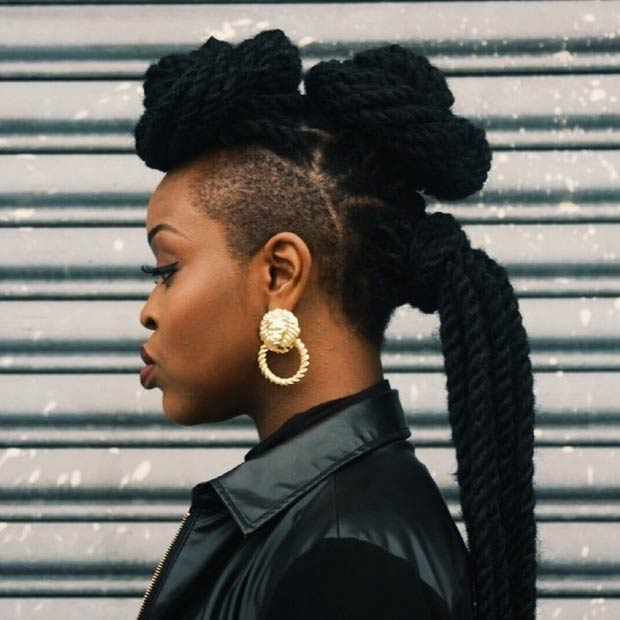 19 Fabulous Kinky Twists Hairstyles Stayglam