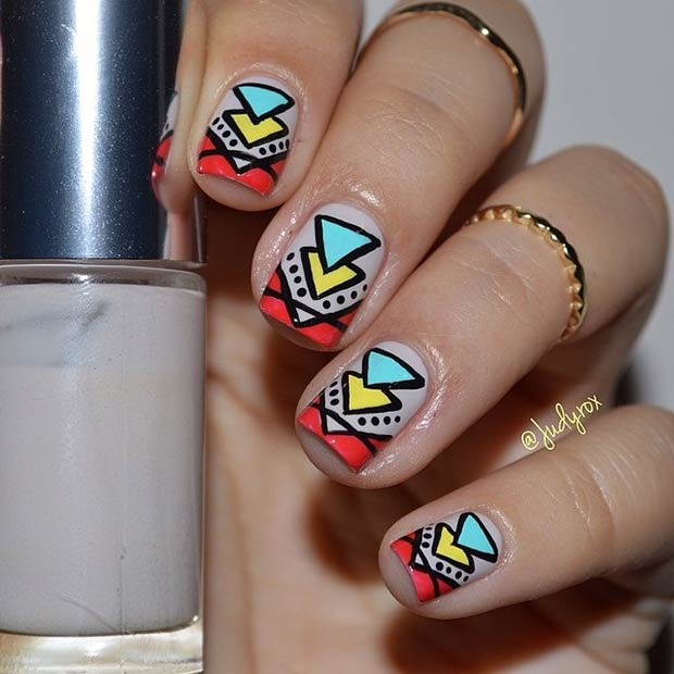 19 tribal inspired nail art designs stayglam