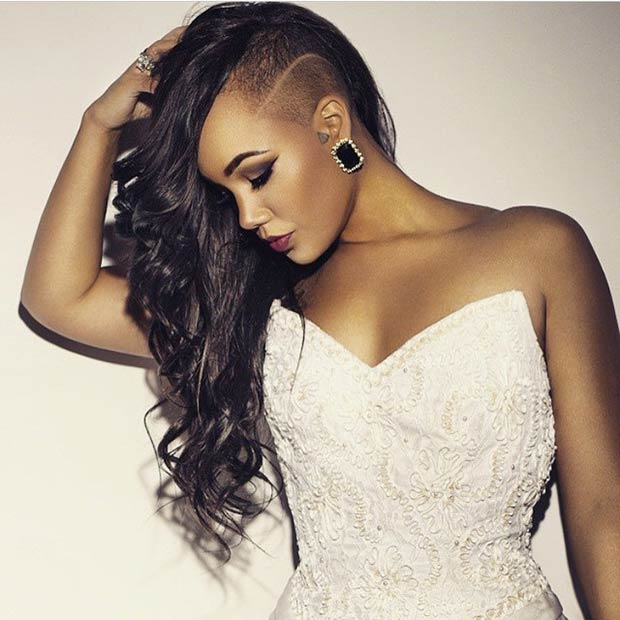 Pleasant 23 Most Badass Shaved Hairstyles For Women Stayglam Hairstyles For Women Draintrainus