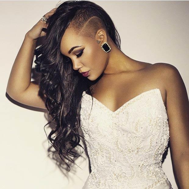 Admirable 23 Most Badass Shaved Hairstyles For Women Stayglam Short Hairstyles Gunalazisus