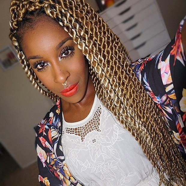 Twists Hairstyles short kinky twist hairstyles Instagram Jackieaina