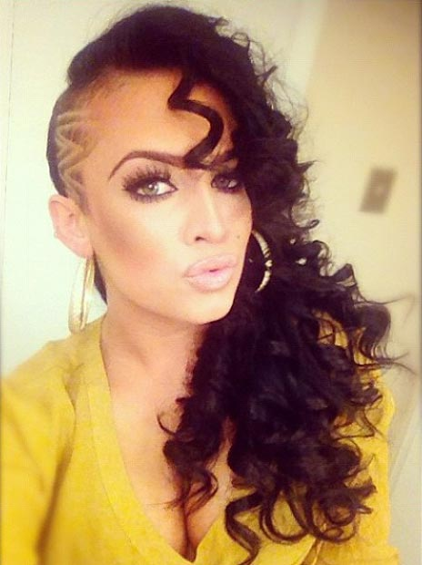 23 Most Badass Shaved Hairstyles For Women Stayglam Page 2