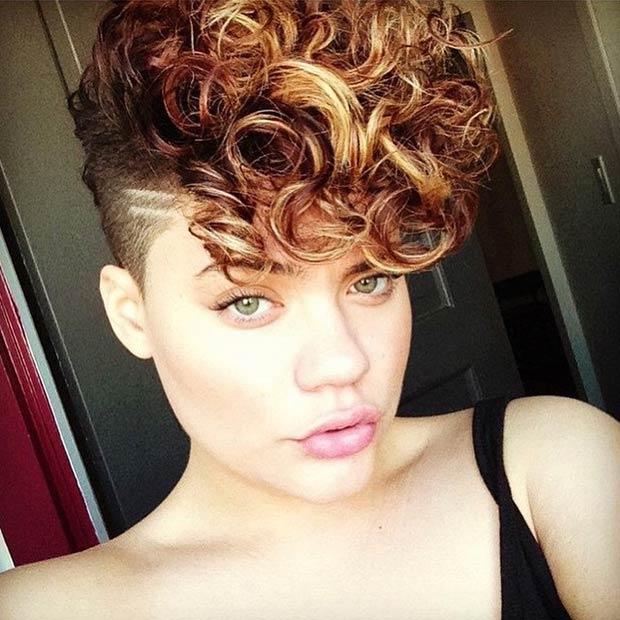 Stupendous 23 Most Badass Shaved Hairstyles For Women Stayglam Short Hairstyles Gunalazisus