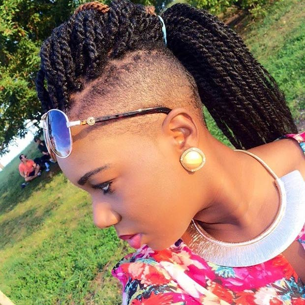 19 Fabulous Kinky Twists Hairstyles Page 2 Of 2 Stayglam