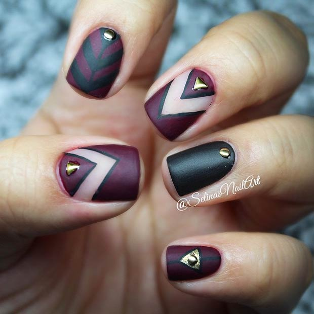 50 best nail art designs from instagram stayglam instagram selinasnailart prinsesfo Gallery