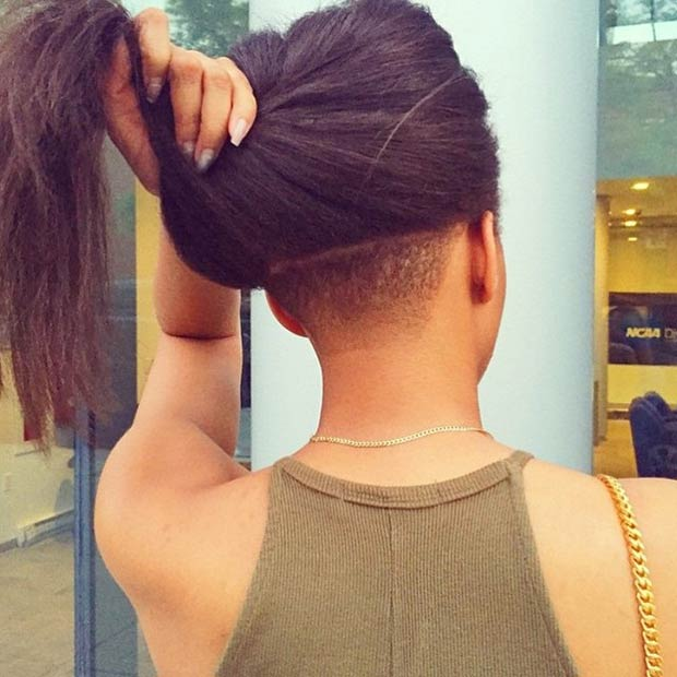 23 Most Badass Shaved Hairstyles For Women Page 2 Of 2