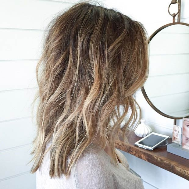 47 hot long bob haircuts and hair color ideas stayglam highlights lowlights bob instagram beckymhair pmusecretfo Images