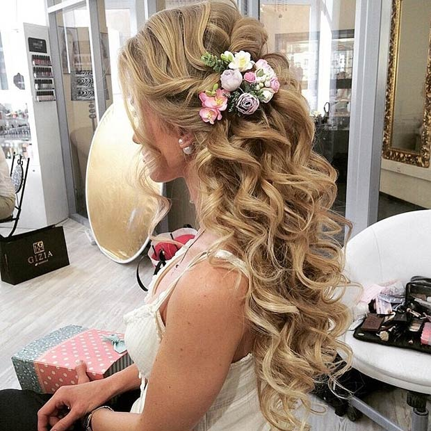 28 Prettiest Wedding Hairstyles: 28 Trendy Wedding Hairstyles For Chic Brides