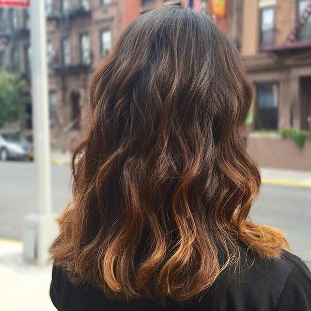 Textured Lob with Warm Highlights