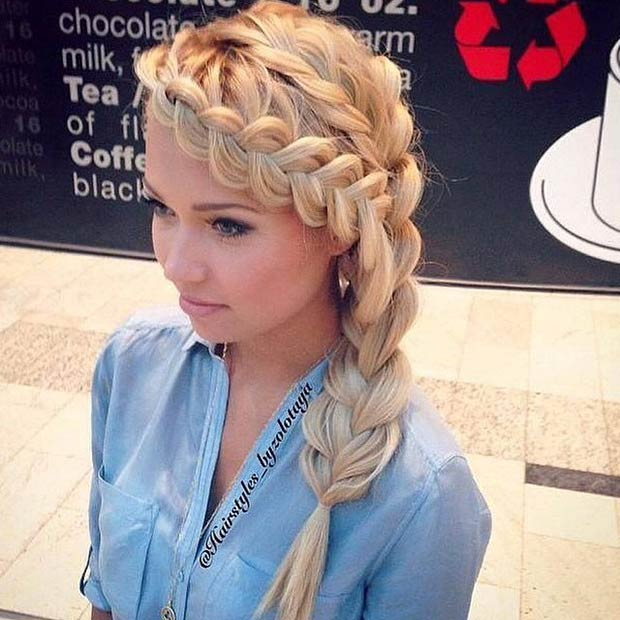 Dutch Braided Hair