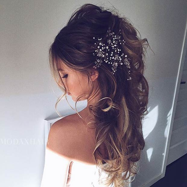 28 Trendy Wedding Hairstyles For Chic Brides Stayglam