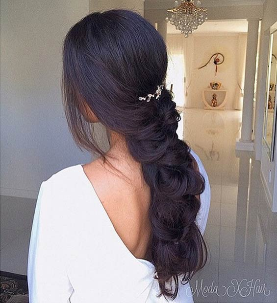 Elegant, Loose Braid for Long Hair