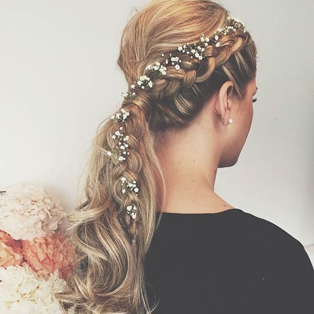 Braid Hairstyles For Wedding Party: 28 Trendy Wedding Hairstyles For Chic Brides