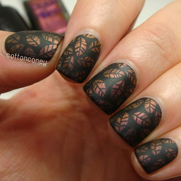 Cool Nail Designs For Short Nails: 35 Cool Nail Designs To Try This Fall