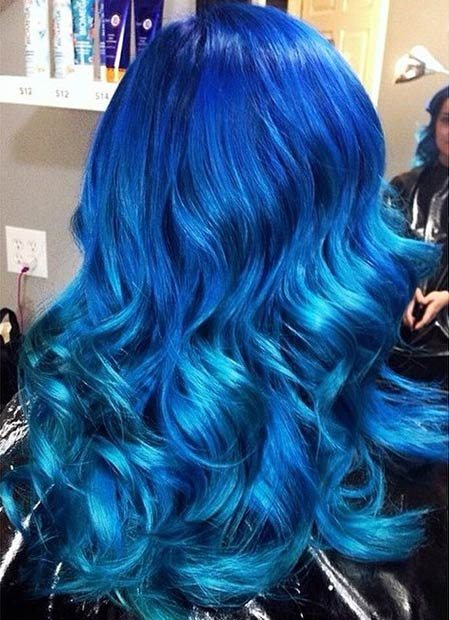29 Blue Hair Color Ideas For Daring Women Page 2 Of 3