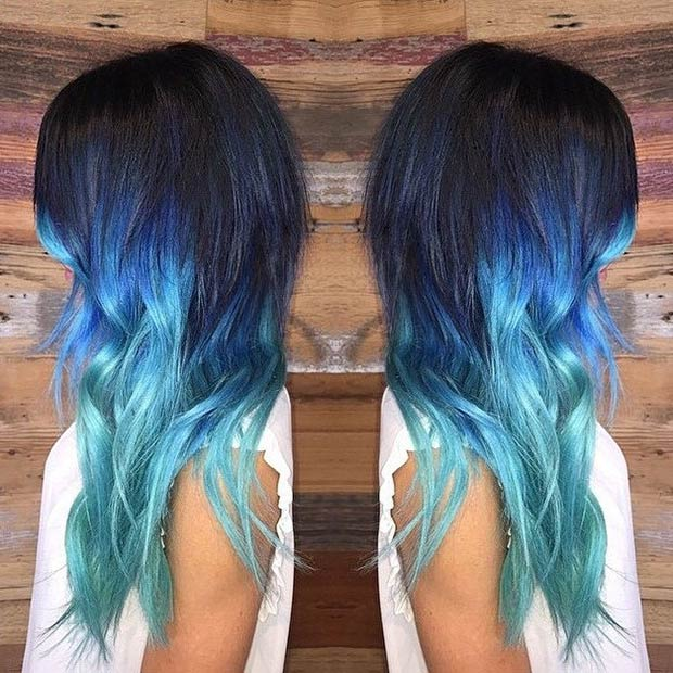 Blue Hair Color Ideas For 2015