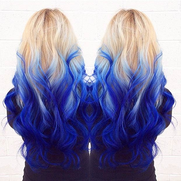 29 Blue Hair Color Ideas for Daring Women – StayGlam - Page 2 fae95e74163a