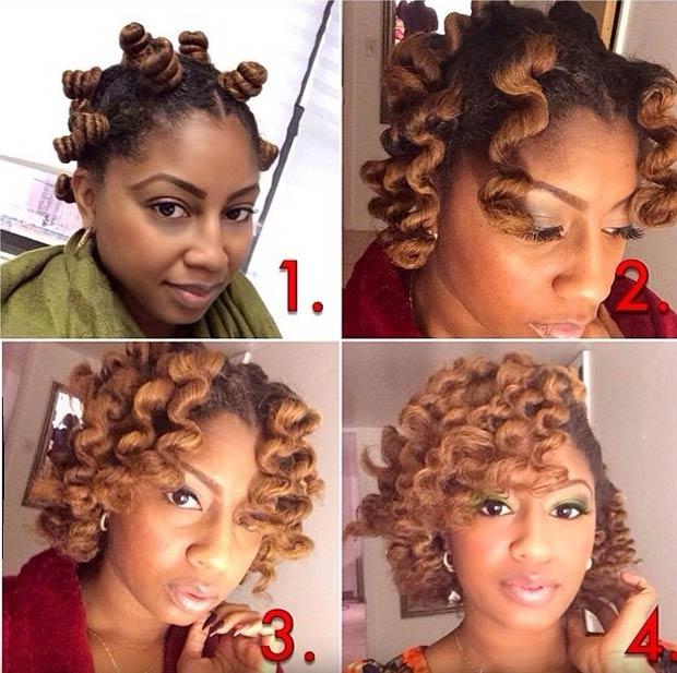 Bantu Knot Tutorial for Natural Hair