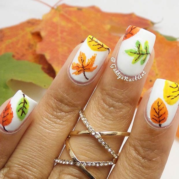 35 Cool Nail Designs To Try This Fall Page 4 Of 4 Stayglam