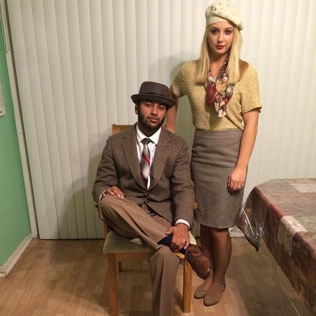 Preferenza 50 Awesome Couples Halloween Costumes | StayGlam US21