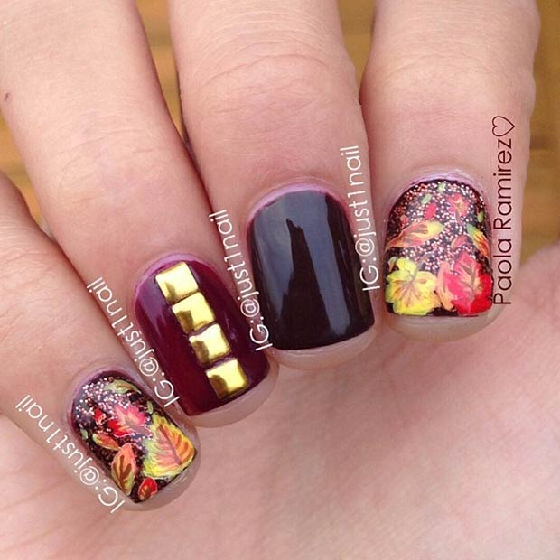 Instagram / just1nail - 35 Cool Nail Designs To Try This Fall StayGlam