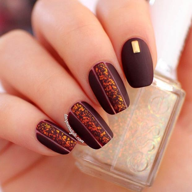 Fall Pedicure Designs: 35 Cool Nail Designs To Try This Fall