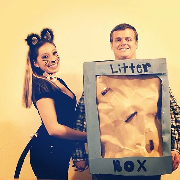 Instagram / kittenesgomeow - 50 Awesome Couples Halloween Costumes StayGlam