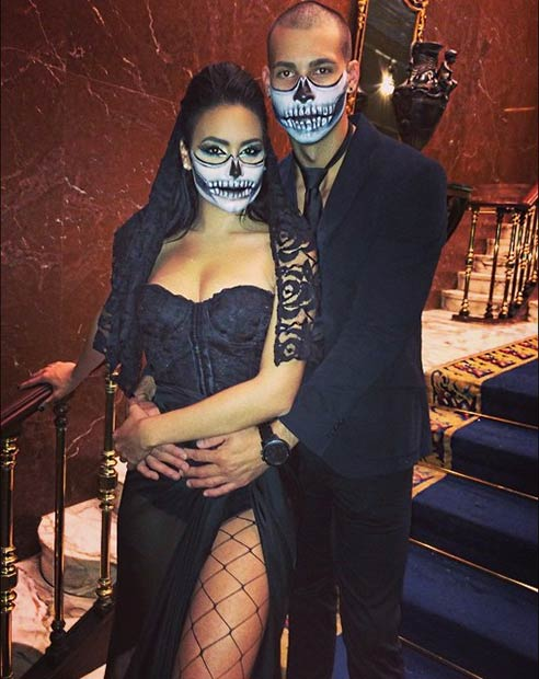 instagram mimipabon - Couple Halloween Costumes Scary
