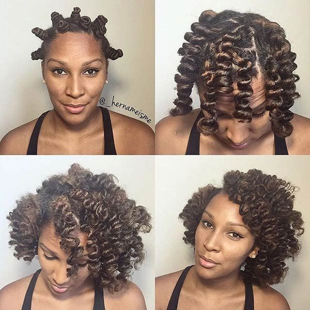 38 Stunning Ways To Wear Bantu Knots Page 3 Of 3 Stayglam
