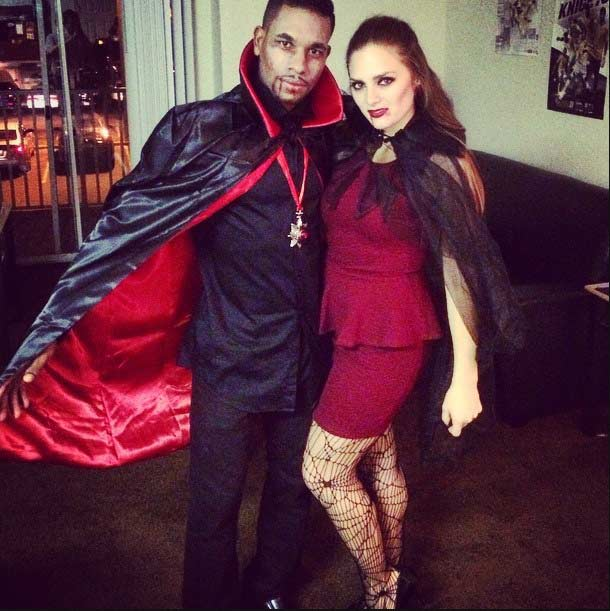 V&ire Couple. Instagram / ssunssh1ne  sc 1 st  StayGlam & 50 Awesome Couples Halloween Costumes | Page 3 of 5 | StayGlam