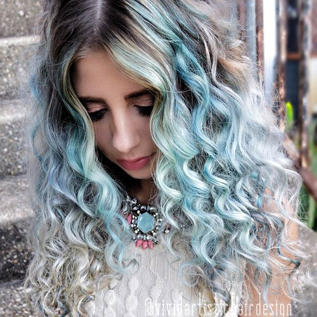 29 blue hair color ideas for daring women page 3 of 3