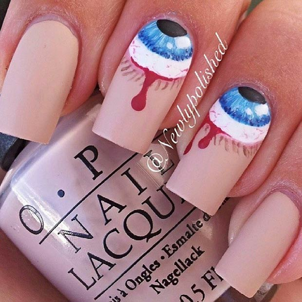 35 Cute and Spooky Nail Art Ideas for Halloween | Page 2 of 3 | StayGlam