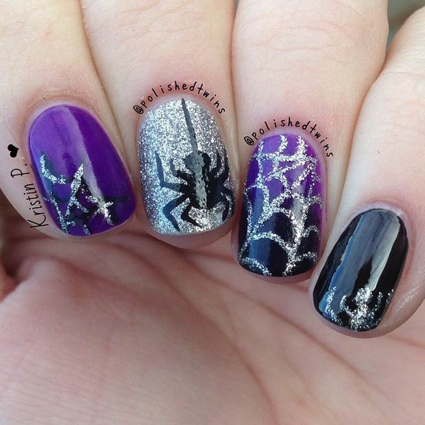 35 Cute and Spooky Nail Art Ideas for Halloween | Page 3 ...