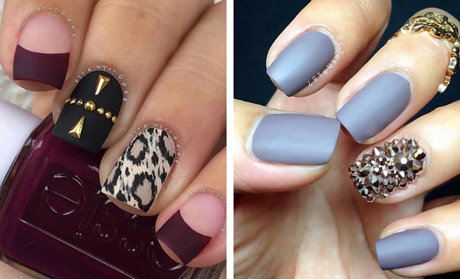 Instagram - 25 Matte Nail Designs You'll Want To Copy This Fall StayGlam